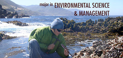 Environmental and Wildlife Management college major list