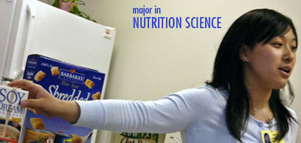 Food Science different majors for college